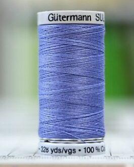 Gütermann Sulky 1198 Blå Cotton 30