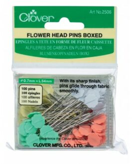Flower Head Pins Boxed  100st
