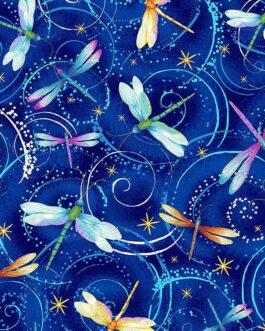 Metallic Dancing Dragonflies