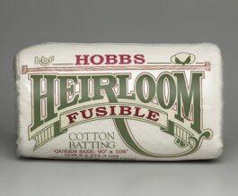 Hobbs Heirloom Fusible 80/20